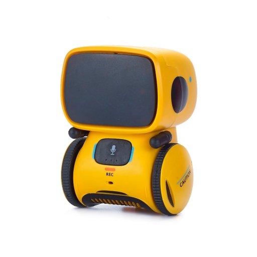 Інтерактивний робот з голосовим керуванням – AT-ROBOT (жовтий)