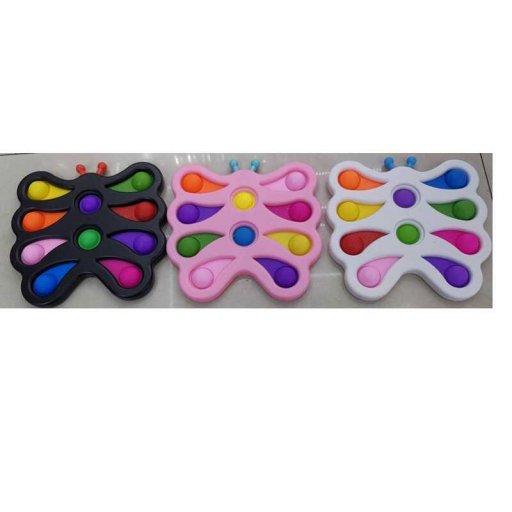 Антистресс С 45643 (200) Pop it Simple Dimple 17 см, 10 пупырок, в кульке//
