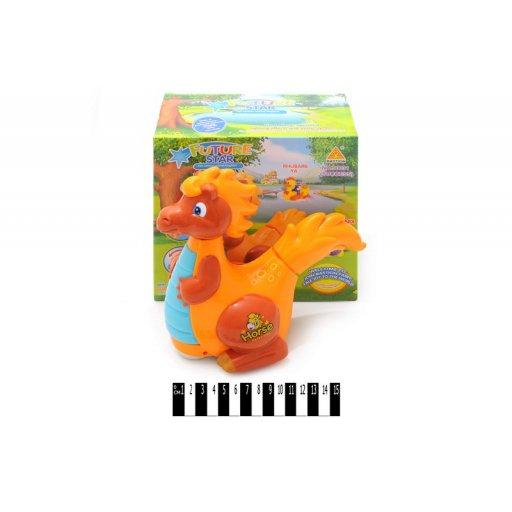 Динозавр музыка в коробке 22,2*11,6*21,3 см. /60-2/
