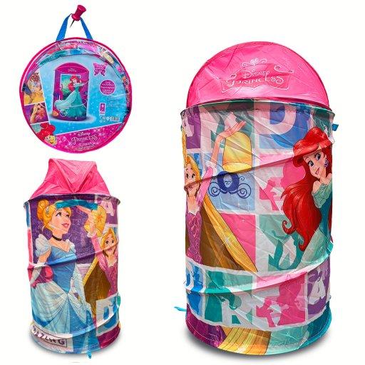 Корзина для игрушек Princess в сумке – 49*49*3 см, размер игрушки – 43*43*60см