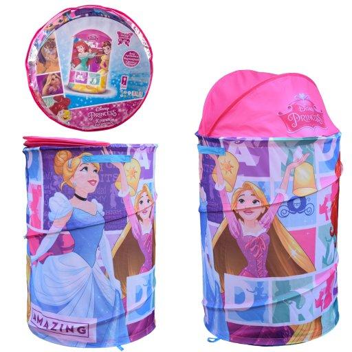 Корзина для игрушек Princess в сумке – 49*49*3см, размер игрушки – 43*43*60см