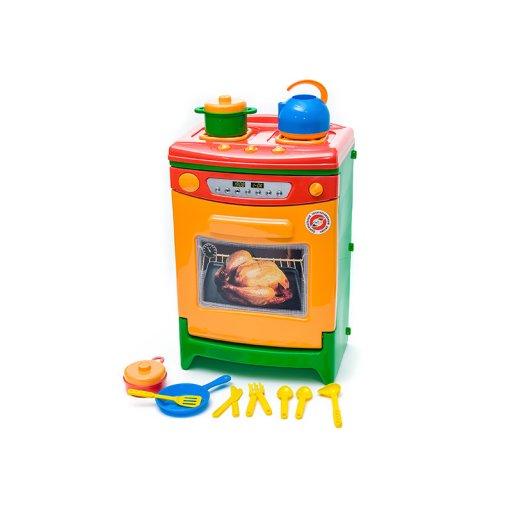 Бытовая техника Плита газовая в пакете+кух.посуда, Орион 31,5*21,5*47см /3/