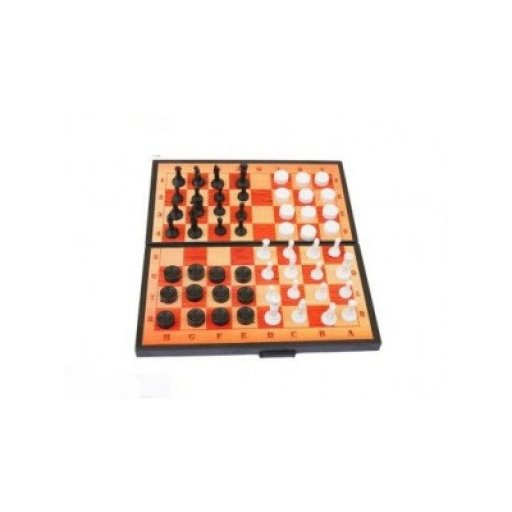Шахматы 2 в 1 (шашки+шахматы) Максимус
