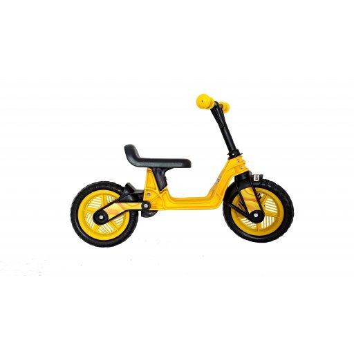 """беговел велобег, 10"""" EVA колеса Желтый (Cosmo bike) КВ"""