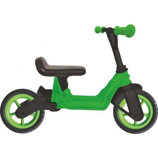 "беговел велобег, 10"" EVA колеса Зеленый (Cosmo bike) КВ"
